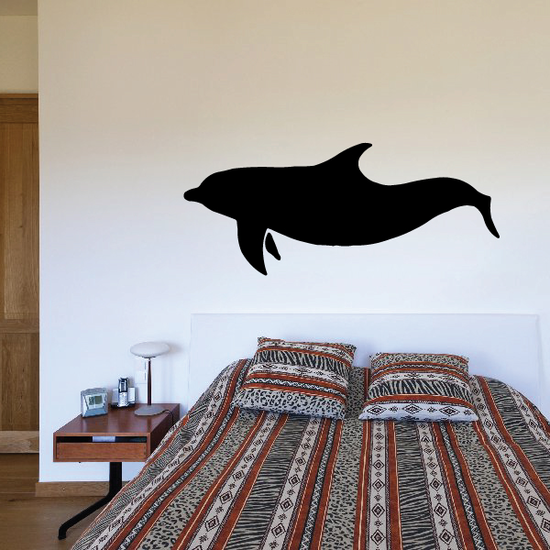 Dolphin Hunting Decal