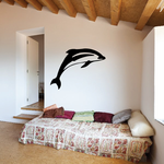 Leaping Pacific Dolphin Decal
