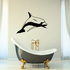 Atlantic Dolphin Swimming Forward Decal