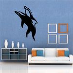 Dolphin Couple Mating Decal