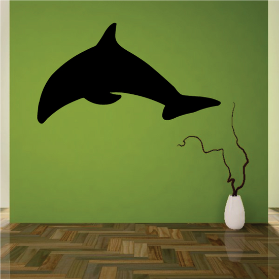 Minimal Dolphin Decal
