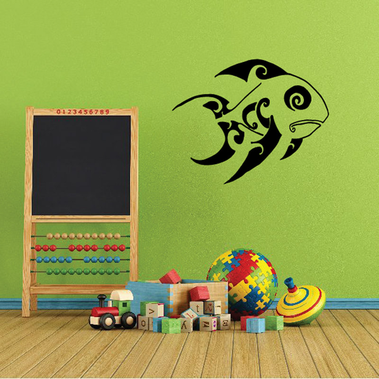 Fish Wall Decal - Vinyl Decal - Car Decal - DC120