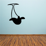 Dolphin Upside Down Decal
