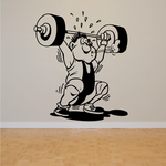 Fitness Wall Decal - Vinyl Decal - Car Decal - Bl106