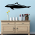 Dolphin Straight Swimming Decal