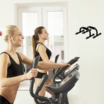Fitness Wall Decal - Vinyl Decal - Car Decal - AL 009