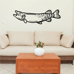 Open Mouth Musky Decal