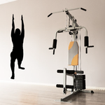 Workout Fitness Wall Decal - Vinyl Decal - Car Decal - AL 010