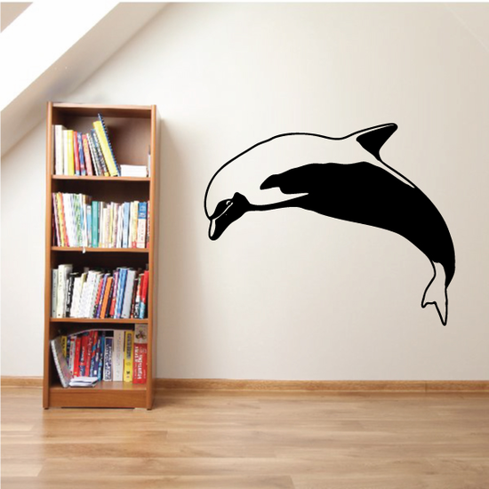 Dolphin High Dive Decal