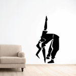 Fitness Wall Decal - Vinyl Decal - Car Decal - Bl014