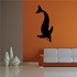 Dolphin Wade Swim Decal