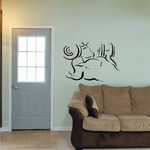 Fitness Wall Decal - Vinyl Decal - Car Decal - Bl079