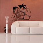 Fitness Wall Decal - Vinyl Decal - Car Decal - Bl091