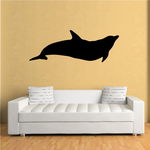 Dolphin Glide Silhouette Decal