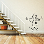 Fitness Wall Decal - Vinyl Decal - Car Decal - Bl099