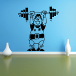 Fitness Wall Decal - Vinyl Decal - Car Decal - Bl110