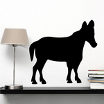 Upright Standing Donkey Decal