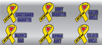 Military Ribbon Decals