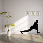 Workout Stretching Wall Decal - Vinyl Decal - Car Decal - AL 006