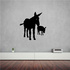 Donkey and Foal Decal