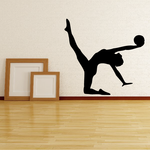 Workout Stretching Wall Decal - Vinyl Decal - Car Decal - AL 007