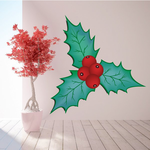 Mistletoe Printed Decal
