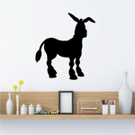 Confused Staring Donkey Decal