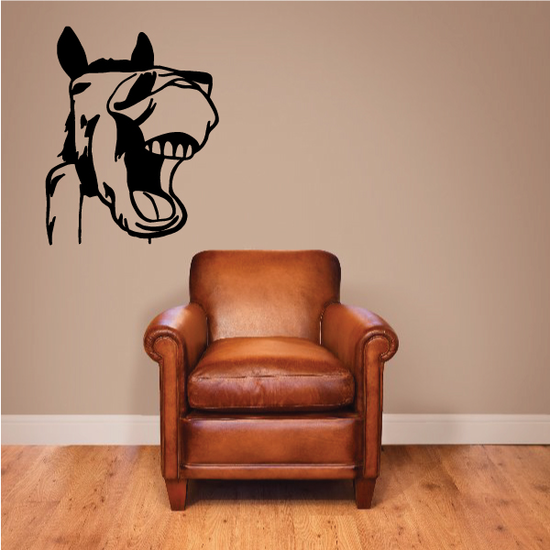 Laughing Donkey Decal