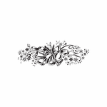 Christmas Decorations Elegant Intricate Decal