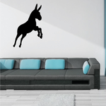 Jumping Donkey Decal