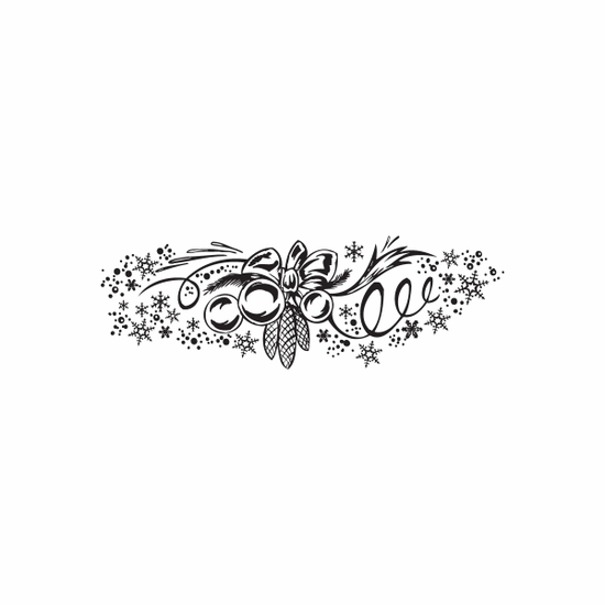 Christmas Decorations Gorgeous Beautiful Intricate Decal