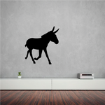 Galloping Donkey Decal