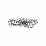 Christmas Decorations Pretty Pines Intricate Decal