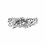 Christmas Decorations Ornament Intricate Decal