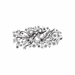 Christmas Decorations Gorgeous Ornament Intricate Decal