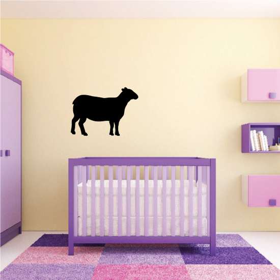 Classic Sheep Decal