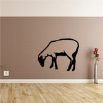 Hampshire Sheep Grazing Decal