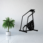 Stair Climber Fitness Wall Decal - Vinyl Decal - Car Decal - MC017