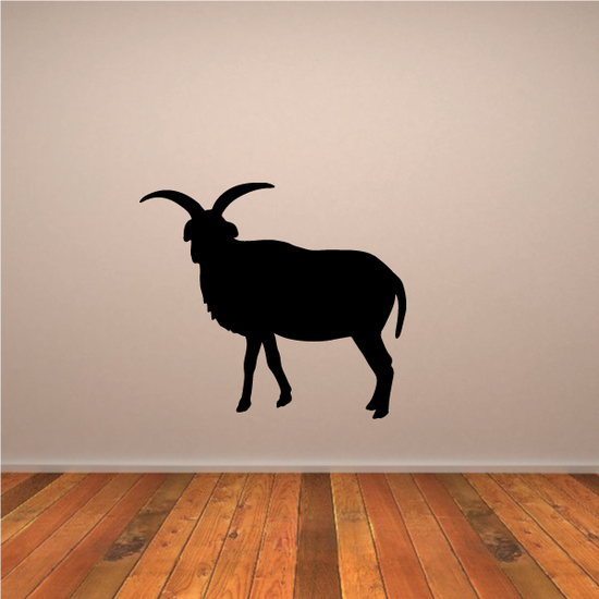 Horned Jacob Sheep Decal