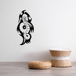 Tribal Serpent Outline Decal