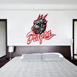 Wise Dragons Decal