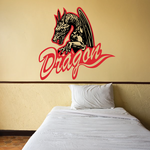 Flying Dragons Decal