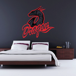 Mighty Dragons Decal