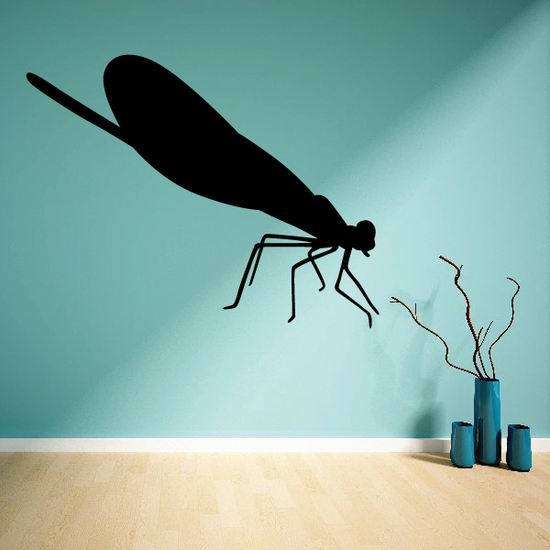 Resting Dragonfly Decal