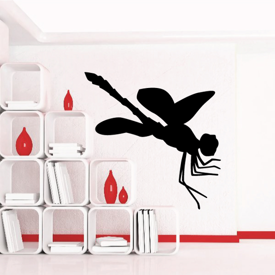 Leaping Dragonfly Decal
