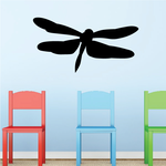 In Flight Dragonfly Decal