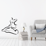 Fitness Wall Decal - Vinyl Decal - Car Decal - Bl004
