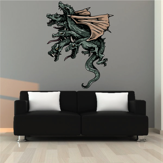 Flying Hydra Sticker