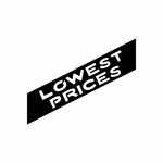 Lowest Prices Sign Signs Home Business Car text Vinyl Decal Sticker Stickers 0033