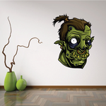 Zombie Orc Head Decal